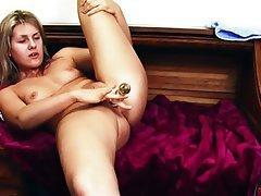 Blonde, Masturbation, Orgasm
