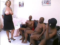 Mature black squirter