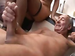 Anal, Big Boobs, Blonde, Old and Young, Stockings