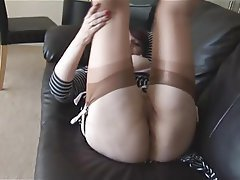 Big Boobs, Interracial, Mature, Stockings