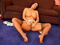 Tits milf nylons big