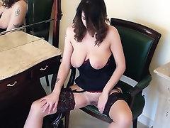 Babe, Big Tits, Ebony, Hairy, Masturbation